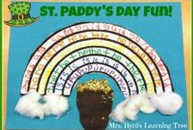 St. Paddy's Day Fun! / Lots of ideas for St. Patrick's Day fun for teachers and families.