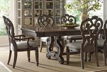 Fine Dining / Our favorite pieces for your dining room and recipes for your next dinner