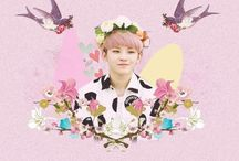 Woozi✨ / Just my cutzie bias from this awesome group called seventeen. AHAH~ his kinda cute tho☀️