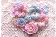 Crochet varie / lavori ad uncinetto