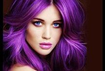 Hair Color Craze / Crazy for hair color... all colors of the rainbow