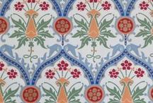 Wallpaper / Watts of Westminster holds an unparalleled archive of the finest wallpapers, with designs from A.W.N. Pugin, G. F. Bodley, George Gilbert Scott, Sir Ninian Comper and C. F. Voysey. Perfect for grand interior design in the 21st century.