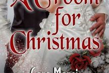 A Groom for Christmas & Wedding Images / A GROOM FOR CHRISTMAS is a new twist on the classic Hallmark Christmas movie full of family, humor, love, and a little bit of redemption.  https://books2read.com/u/4AwNnq  2013 Snow Globes Award Contest Finalist  2014 Readers' Choice Nominee, Best Couple, Love Romances Cafe  2014 RomCon Awards Finalist