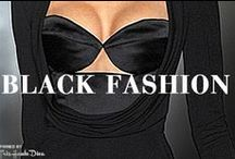 ♔ Black Fashion ♔ / Fashion in Black / by Très Haute Diva ♔THD♔