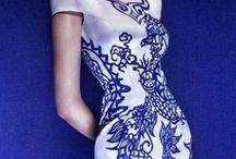 Blue + White / Fashion In Blue and White / by Très Haute Diva