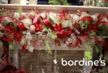 Christmas Decor / Our garden store transforms into a wonderland of over 20 designer theme trees, Bordine-grown Poinsettias and much, much more! Visit us at www.bordines.com