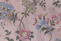 The Tuileries wallpaper collection. / Watts of Westminster's new wallpaper collection for Summer 2013, inspired by the Tuileries gardens in Paris, where lovers meet to promenade and relax under the flower-strewn paths. Will be first exhibited at Decorex and Focus 22-25 September.
