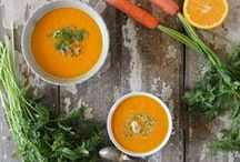 Fall & Winter Foods / Nourishing, comforting meals for fall and winter. Seasonal foods. Soups, stews, chilis.