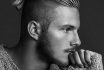 Men: Medium cuts / Style inspiration for medium-length haircuts for men.