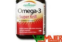 Integratori: Grassi Salubri / Integratori di grassi essenziali come Omega-3, Omega-6. Cla.