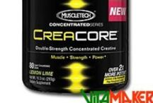 Integratori: Pre-Workout / Intrgratori da assumere prima dell'allenamento, in modo da avere energie per allenarsi e aminoacidi per evitare il catabolismo muscolare.