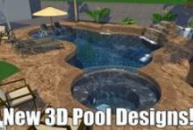 3D Pool Designs! / With technology advancing more and more, now you can see specifically what your backyard will look like with an A Cut Above Pool! Call us today for a free estimate and detect exactly what your yard will look like with an exquisite A Cut Above Pool ! Your dreams are now a reality !