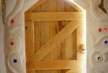 ZelfbouwHuisjes / Leem hout zelfbouw