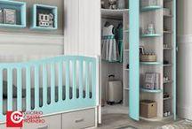 Para el bebé / mobiliario adecuado para estancias infantiles donde encontrará cunas convertibles y cunas de estilo moderno y con un diseño muy practico.