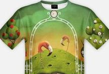 t-shirts / t-shirt, fullprint,