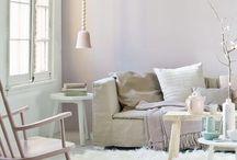 voorjaarstrends / nieuwe kleuren en trends in interieur