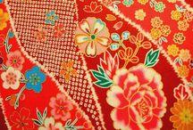 japanese fabric / 染め・織り・刺繍