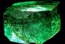 mineral 3 / 青・水色・藍・紫・緑