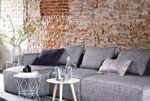 Zetels en salontafels