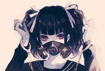 Portraits Manga à Mi-Corps