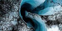 GLACIERS | Glaciers, ice caves and sea ice / Glaciers, ice cap, glacier tongue, glacier outlet, blue ice, Sea Ice, iceberg, glacier lagoon, Arctic, Antartica, Arctic Circle, climate change, melting sea ice, glacier wedding, glacier walk, glacier hike, glacier crevasse, glacial, glacial river, ice cave
