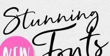FONTS | Typography, Free Fonts, Brush Script