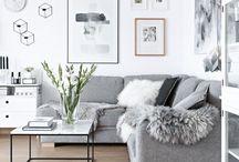 LIVING ROOM | Sofas, Hygge, Log Burners, Minimalist, Scandi, Modern, Decor
