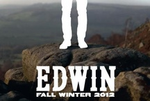 Fall / Winter 2012 Lookbook / The true spirit of Edwin Jeans is created over time, by the person living in them... making everyday count with yesterday's memories etched into the grain of the denim... safe in the knowledge that tomorrow's good times are still to be created.  Above all, friendship and absolute freedom...