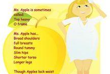 Fashion: Apple shape / by Ivonne