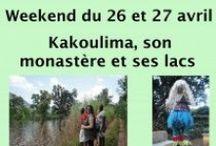 Kakoulima son monastère et ses lacs / Découvrir les environs de #Coyah, à seulement 2h de #Conakry. Le mont Kakoulima, le monastére et les lacs, #ecotourisme, #VoyageGuinee. http://www.voyage-guinee.fr/nos-voyages/kakoulima-monastere-ses-lacs-26-27-avril-2014/