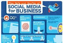 Social Media Marketing - Business Tips / Social Media Marketing and Management.  Business Tips to help you improve your reach to new and existing customers. #socialmediamarketing