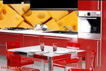 Appetizing kitchens