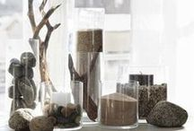 Bring Nature in Your House / ideas to use driftwood and other nature elements in home decor
