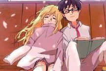Shigatsu Kimi wa no Uso / Anime ini ngebuat gue netesin air mata gue karena cerita cinta sang pianis yg mengharukan sekali *hiks..