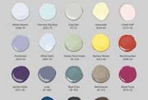Color at Home / Choosing color schemes for interior design.