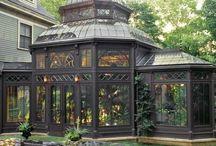 Greenhouse/aviary goodness