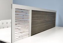 DESK DIVIDER / Our DESK DIVIDER is a low-profile modular table top privacy screen. It's the perfect height to add privacy at a seated eye level, and acts as a backstop for desktop items. The modular design allows for attachment of a below-desk modesty panel or above-desk privacy panel. Available in LOFTwall's full range of panel finishes. Enhance productivity with magnetic, tackable or dry-erase surfaces. Designed to mount to the underside or top edge of square or rounded edge tables. Custom units available.
