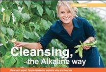 Alkalising Tips & Recipes / http://www.betterraw.com/search/label/Acid%20Alkaline