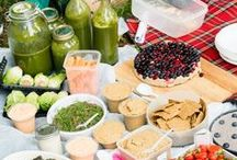 Raw Snacks / Snacks that don't leave you feeling guilty.