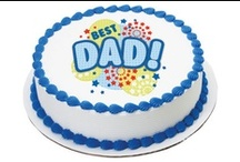 Father's Day Party / Dad's are pretty awesome. Like, super awesome. Whether your Dad is an avid golfer, relaxed Fisherman or an overall great guy, here are some easy ways to celebrate Father's Day with your #1 Dad. / by DQ® Cakes