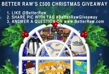 Competitions & Giveaways / Exciting opportunity to win some delicious raw food treats.