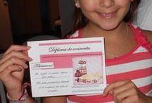 cocineritas / Fiesta de cocineritas , para niñas de 6 a 12 años, llevamos todo para preparar recetas dulces y saladas, delantales, horno eléctrico,mantelería,hermosa vajilla , música, juegos , diplomas y souvenirs