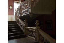Interiors at Holme Pierrepont Hall