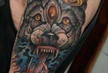 Tattoos / Tattoo ideas.  / by Jack Ritchie