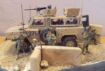 Afghanistan diorama