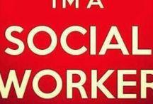My life. Social work