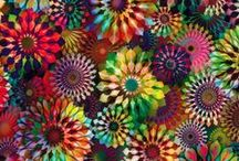 Cotton Fabrics / Fun and bright cotton fabrics that you can use for many different occasions. / by Beaverhead Treasures LLC