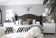 Bedroom / Decorating a bedroom. Bedroom inspiration.