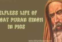 Life of Bhagat Puran Singh / Bhai Puran Singh ji in undoubtly the single Sikh Hero of this century who worked totally selflessly all his life to provide the last hope to the mentally and terminally ill patients.