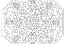 Dibujos para colorear mandalas / Dibujos para colorear mandalas